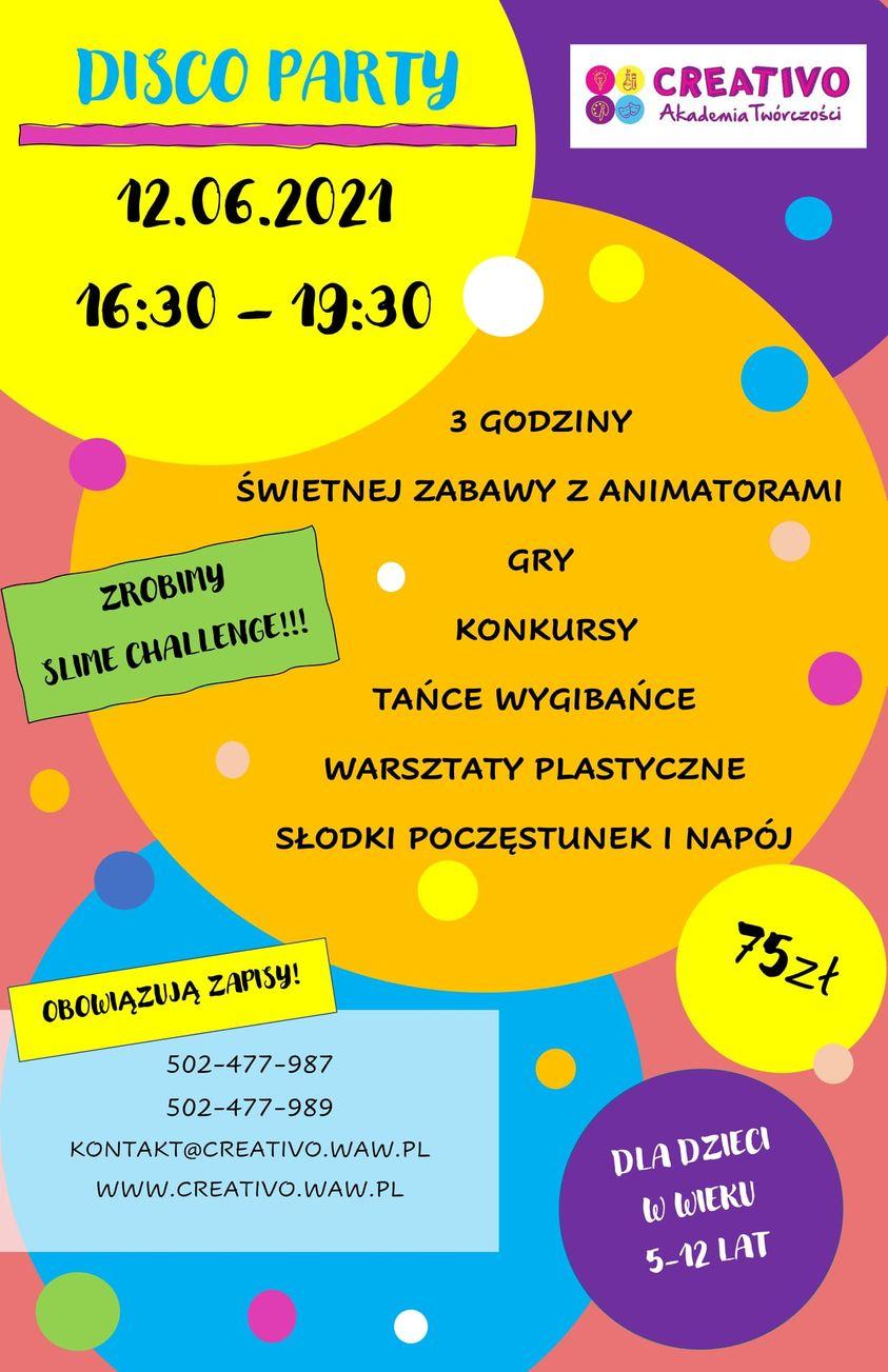 Disco Party w Creativo!